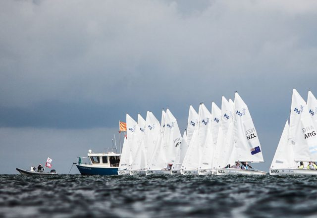 Youth World Sailing Championship in 2021 in The Hague